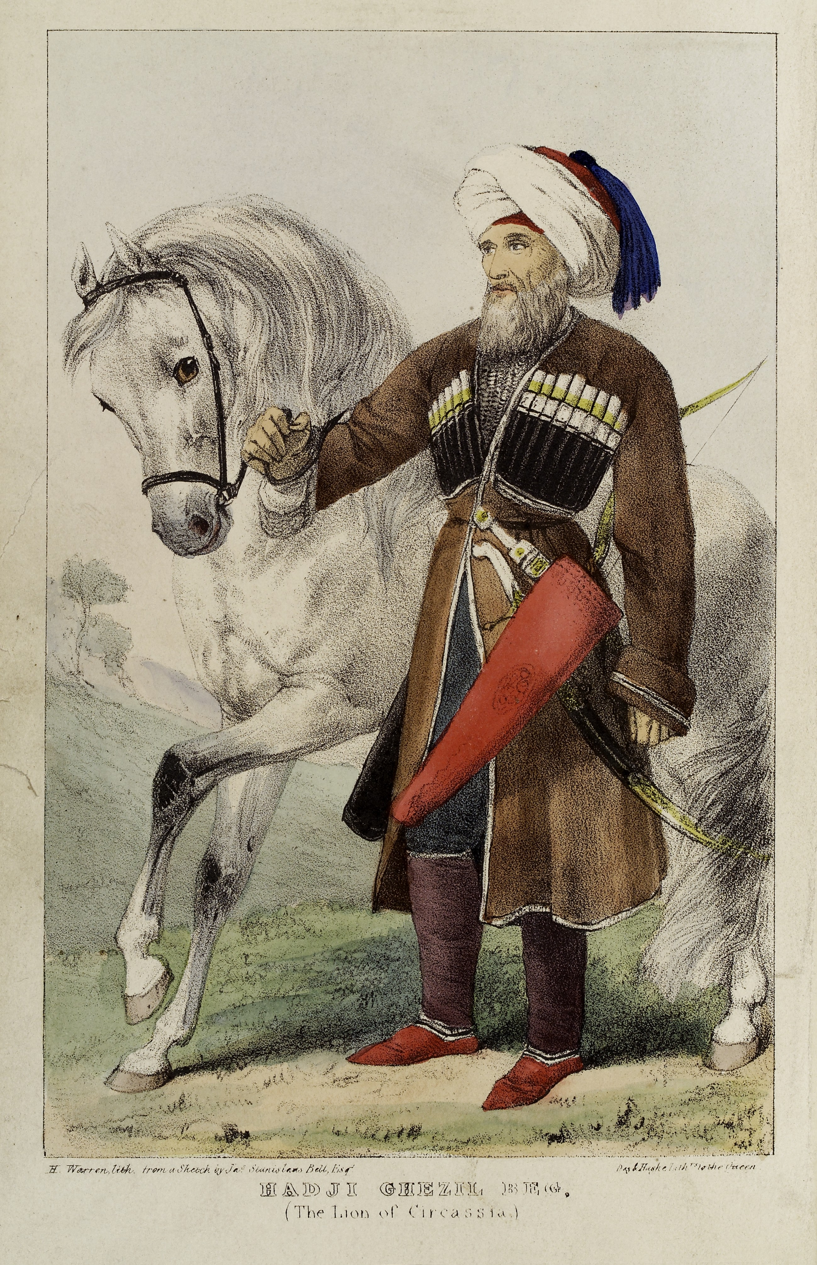lion of circassian tuguzhuko kyzbech