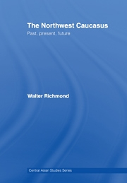 The Northwest Caucasus Past, present, future by Walter Richmond